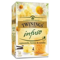 Ceai Twinings Infuso Camomile, Honey & Vanilla 20 plicuri