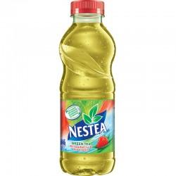 Nestea Ice Green Tea capsuni si aloe vera 500 ml