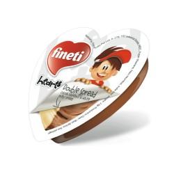 Crema de cacao si vanilie Fineti bicolora 19 grame
