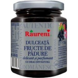 Dulceata de fructe de padure Raureni 250 grame