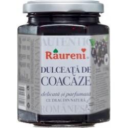 Dulceata de coacaze Raureni 350 grame