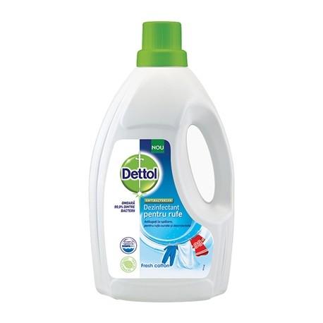 Dezinfectant pentru haine Dettol Cotton Fresh 1,5 litri