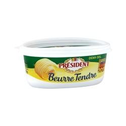Unt President 80 % grasime semi-sarat 250 grame