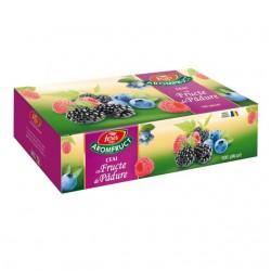 Ceai Fares fructe de padure cutie 100 plicuri