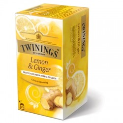 Ceai Twinings Infusions Lemon & Ginger 25 plicuri