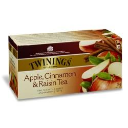 Ceai Twinings Apple,Cinnamon & Raisin Tea 25 plicuri