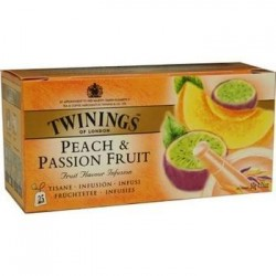 Ceai Twinings Peach & Passionfruit 25 plicuri