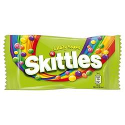 Bomboane Skittles Crazy Sours 38 grame