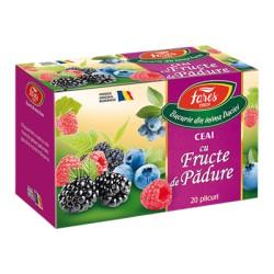 Ceai Fares fructe de padure 20 plicuri