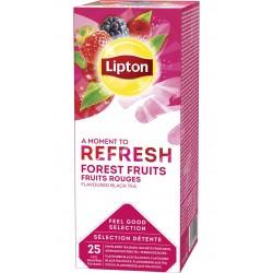 Ceai Lipton fructe de padure 25 plicuri