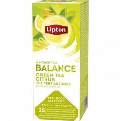 Ceai Lipton Greentea Citrus 25 plicuri