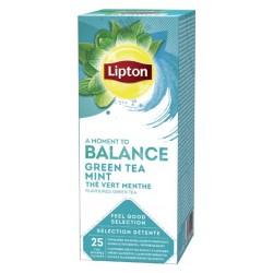 Ceai Lipton Greentea & Mint 25 plicuri