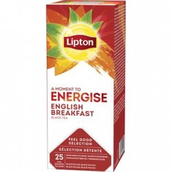 Ceai Lipton English Breakfast cutie 25 plicuri