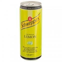 Schweppes Lemon doza 330 ml