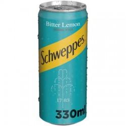 Schweppes Bitter Lemon doza 330 ml