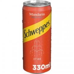 Schweppes Mandarin doza 330 ml