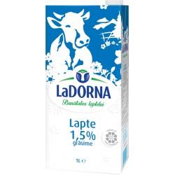 Lapte LaDorna UHT 1,5% grasime 1 litru