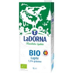 Lapte Bio LaDorna UHT 1,5% grasime 1 litru