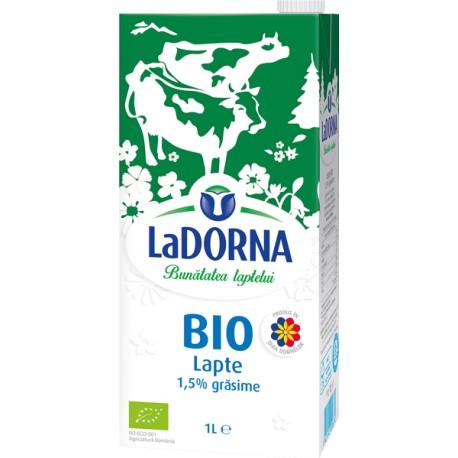 Lapte LaDorna BIO UHT 1,5% grasime 1 litru