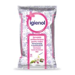 Servetele umede Igienol Măr 15 buc