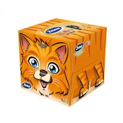 Servetele cutie pop-up Zewa Kids Farm Box 60 buc