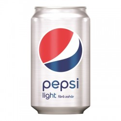 Pepsi Light doza 0,33 litri
