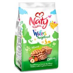 Napolitane cu alune Naty 180 grame