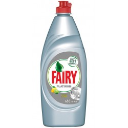 Detergent vase Fairy Platinum Lemon & Lime 650 ml