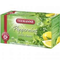 Ceai Teekanne Peppermint Lemon 20 plicuri