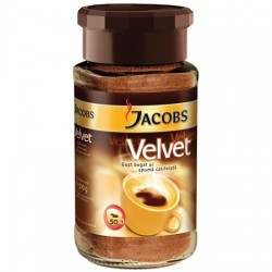 Cafea solubila Jacobs Velvet 100 grame
