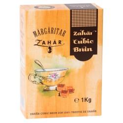 Zahar brun cubic Margaritar 1 kg