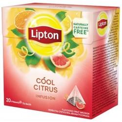 Ceai Lipton Infusion Cool Citrus 20 plicuri