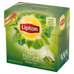 Ceai Lipton Green Tea Nature 20 plicuri