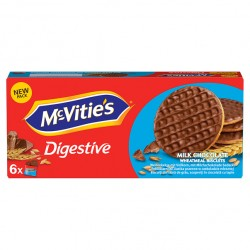 Biscuiti McVitie's cu lapte si ciocolata 199,8 grame