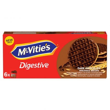 Biscuiti McVitie's cu ciocolata neagra 199,8 grame