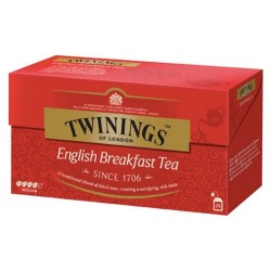 Ceai Twinings English Breakfast 25 plicuri