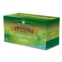 Ceai Twinings Greentea & Mint 25 plicuri