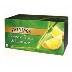 Ceai Twinnings Green Tea & Lemon 25 plicuri