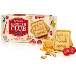 Biscuiti cu cereale si miere Roshen English Club 112 grame