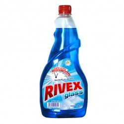 Rezerva detergent geamuri Rivex Clear 750 ml