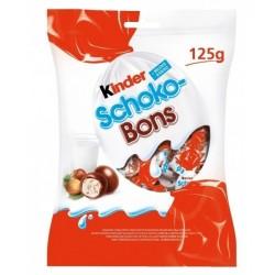 Bomboane de ciocolata Kinder Schoko-Bons 125 grame