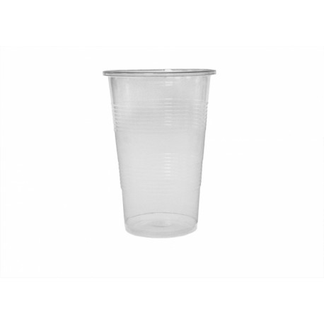 Pahare plastic transparent Romdist 250 ml 50 buc