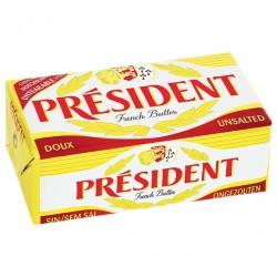 Unt President 82 % grasime 250 grame