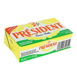 Unt President semi-sarat 82 % grasime