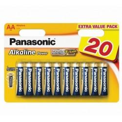 Baterii Panasonic Alkaline LR6 AA 20 buc
