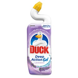 Dezinfectant toaleta Duck Deep Action Gel Lavender 750 ml