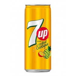 7 UP Cocktail Exotique doza 330 ml