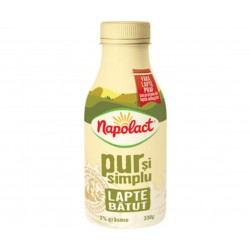 Lapte batut Napolact 2% grasime 330 grame