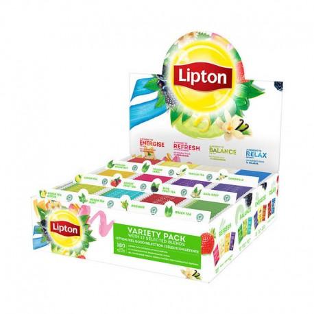Ceai Lipton Variety Pack 180 plicuri