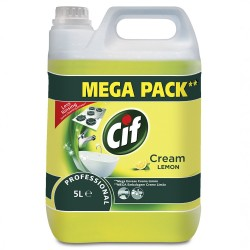 Solutie Cif Cream Lemon Professional 5 litri